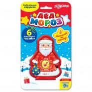 Музична іграшка Дід Мороз, 6 пісеньок