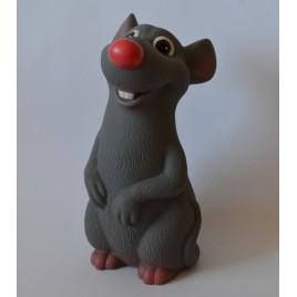 Игрушка из пластизоля Крысенок Рэт