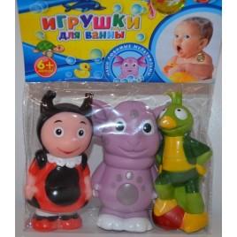 Набор игрушек Лунтик, Мила и Кузя