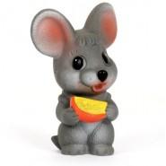 Игрушка из пластизоля Мышонок с сыром