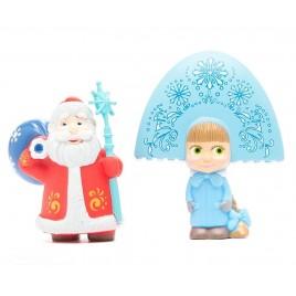 Набор Маша-снегурочка и Дед Мороз