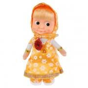 Мягкая игрушка Маша в желтом сарафане, Мульти-Пульти озвучена