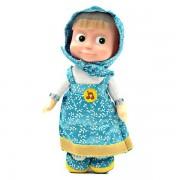 Мягкая игрушка Маша в голубом сарафане, Мульти-Пульти озвучена