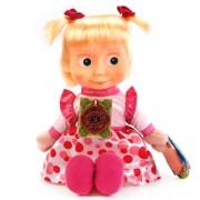 Мягкая игрушка Маша в нарядном платье, Мульти-Пульти озвучена