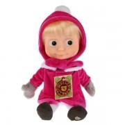 Мягкая игрушка Маша в зимней одежде, Мульти-Пульти озвучена