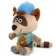 Мягкая игрушка Енот Саня, Ми-ми-мишки, Мульти-Пульти