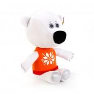 Мягкая игрушка Медвежонок Белая Тучка, Ми-ми-мишки, Мульти-Пульти