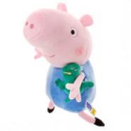 Мягкая игрушка Джордж с динозавром, 30 см