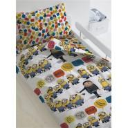 Комплект постельного белья Грю и Миньоны