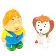 Карлсон и щенок, в сетке