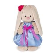 Зайка Мі в синьому платті з рожевим бантиком