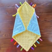 Развиваюча ковдра-комфортер Taggie Snuggle Blanket