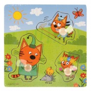 Рамка-вкладыш Веселая прогулка. Три кота