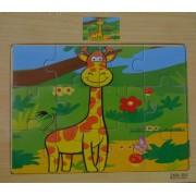 Пазл Жираф