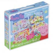 Игровой набор 4 в 1. Peppa Pig, Свинка Пеппа