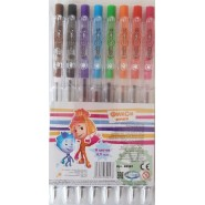 Ручки кулькові кольорові. Фіксики