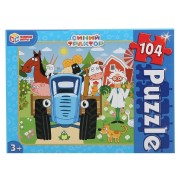 Пазлы Синий трактор 104 эл