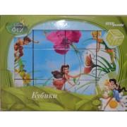 Кубики Феї Disney, 12 шт