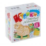 Кубики для малюків Домашні тварини, 4 шт