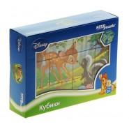 Кубики Бэмби Disney, 12 шт