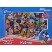Кубики Міккі Маус Disney, 12 шт