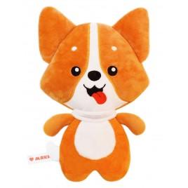 РазоГРЕЛКА Корги -  плюшевая игрушка с вишневыми косточками. Доктор Мякиш