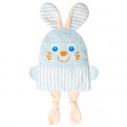 Крошка Зайка - льняная игрушка с вишневыми косточками. Доктор Мякиш