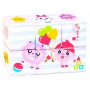 Мягкие кубики Мультики Малышарики. Доктор Мякиш