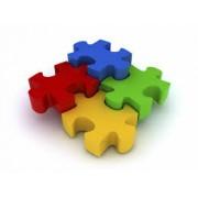 Пазли, кубики, доміно, настільні ігри