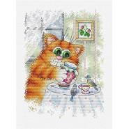Набор для вышивания Утренее чаепитие