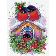 Набір для вишивання Зимовий будиночок
