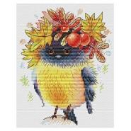 Набор для вышивания Осенняя пташка