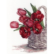 Набор для вышивания Тюльпаны